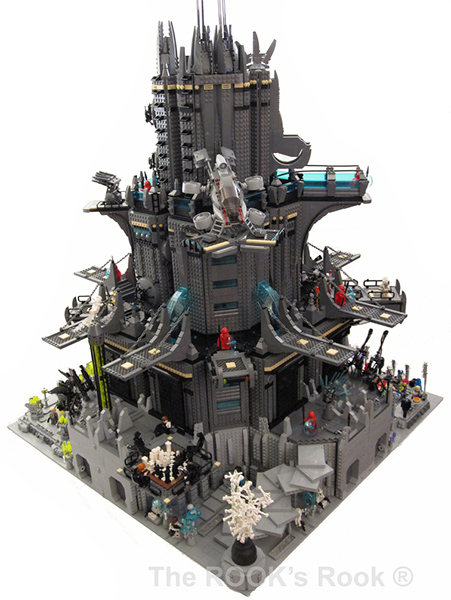 Rook Tower Lego Creation