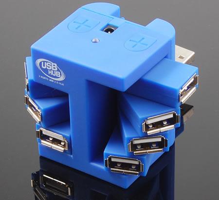 USB Rotary 7 Hub