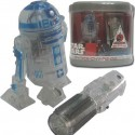 Transparent R/C R2-D2 Action Figure by Tomy