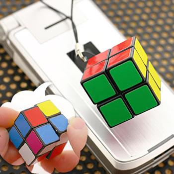 Rubik's Cube Phone Strap