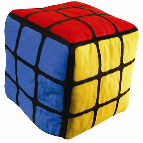 Rubik's Cube Plush Toy