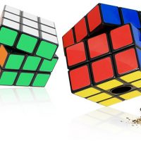 Rubiks Cube Salt and Pepper Mills
