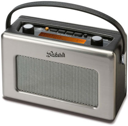Roberts Revival DAB Radio - Stainless Steel Edition