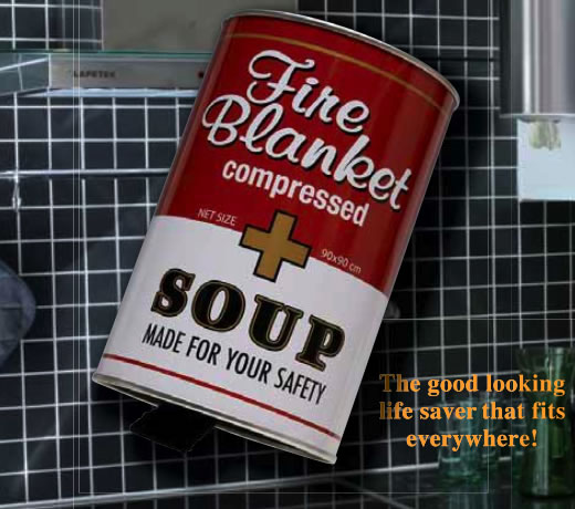 Safety Can - Canned Fire Blanket