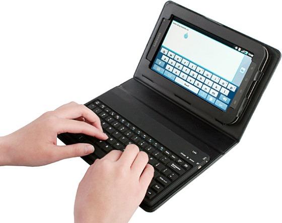 Samsung Galaxy Tab Case with Bluetooth Keyboard