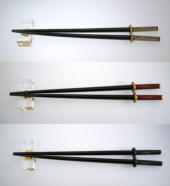 Samurai Sword Chopstick Sets