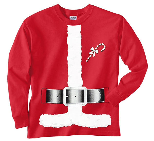 Santa Claus Costume T Shirts