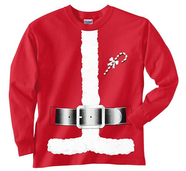 Santa Claus Costume T-Shirt