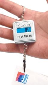 Digital Scale Keychain