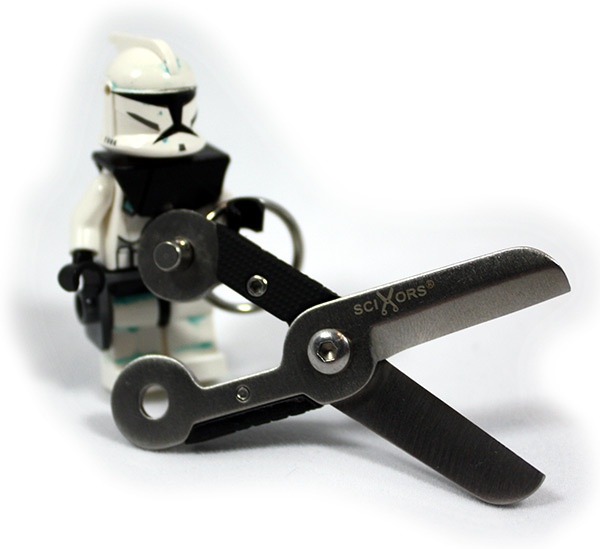 SciXors with Lego Clone Trooper Minifigure
