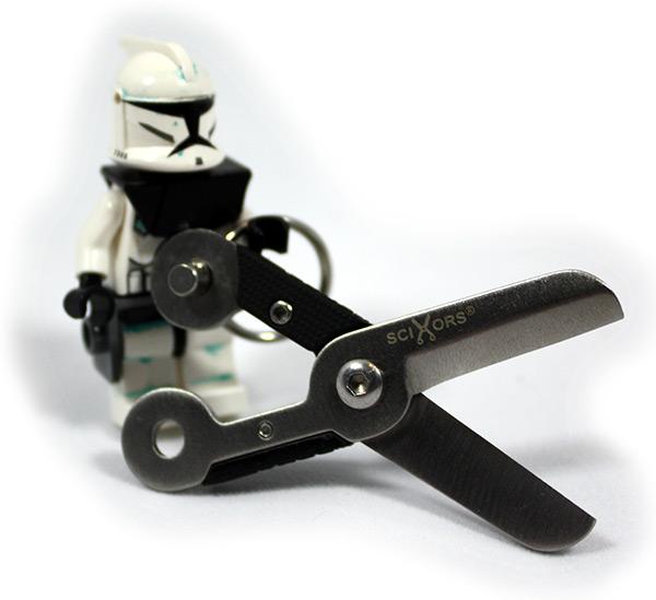 SciXors with Lego Clone Trooper Minifigure