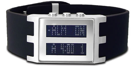Scrolling LCD Watch