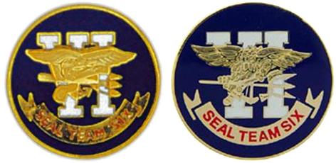 Seal Team 6 Pins