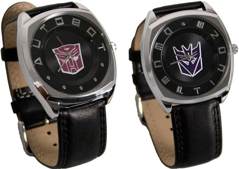 Seiko Transformers Watches - Autobot & Decepticon