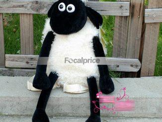 Plush Shaun the Sheep Shoulder Side Bag
