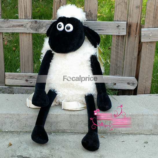 Plush Shaun the Sheep Shoulder Side Bag