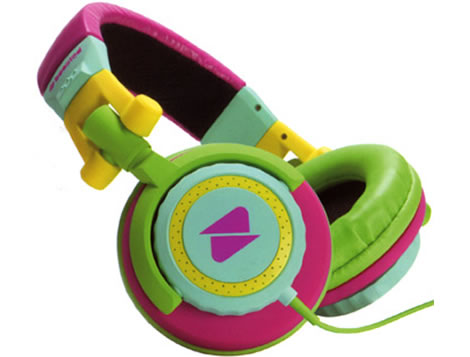 Sherbet Colorblock Headphones
