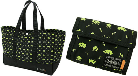 Space Invaders Tote & Wallet
