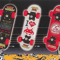 Space Invaders Mini Skateboards