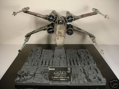 Star Wars X-Wing Fighter Signed by George Lucas