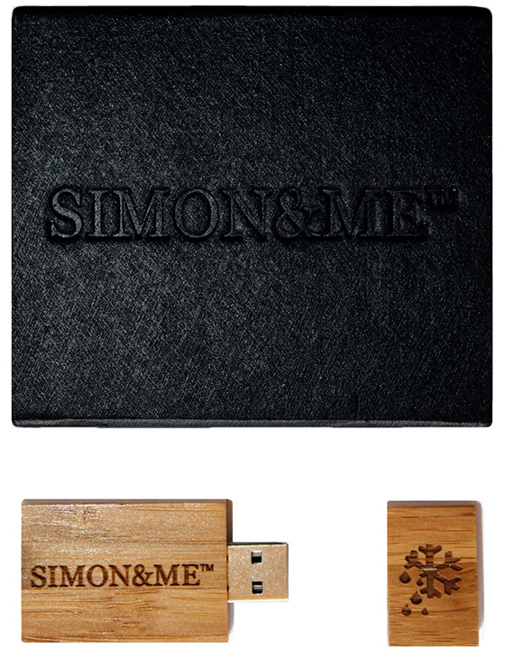 Simon&Me Woodpecker USB Flash Drive