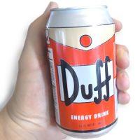 Duff Beer Energy Drink