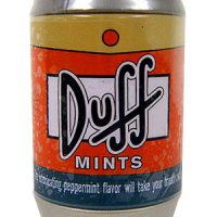 The Simpsons Duff Beer Can Mints