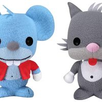 The Simpsons Itchy and Scratchy Plush Toys