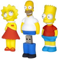 The Simpsons USB Flash Drives