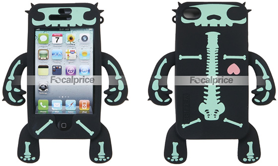 Skeleton Silicon iPhone 4 Cases