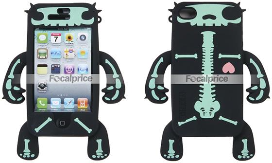 Skeleton Silicon iPhone 4 Cases