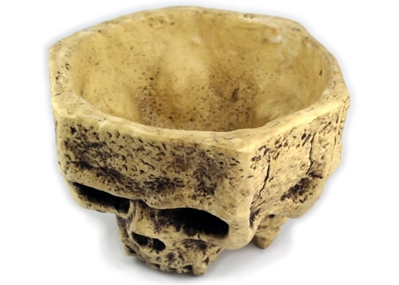 Skull Shaped Bowl