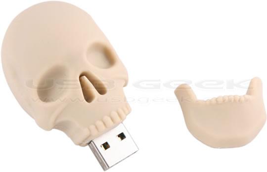 Human Skull USB Drive