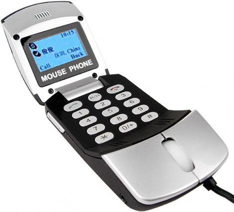 Mouse Skype Phone