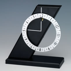 A New Slant Clock