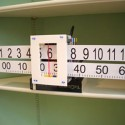 Slide Rule Wall Clock