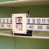 Slide Rule Wall Clock