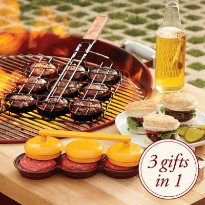 sliders mini-burger set