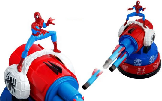 Spider-Man USB Missile Launcher