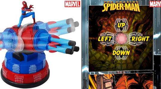 Spider-Man USB Missile Launcher