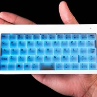 Illuminated Super-Tiny Wireless Keyboard
