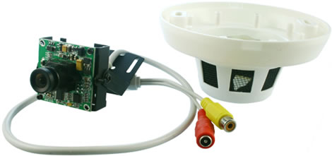 Smoke Detector Surveillance Camera