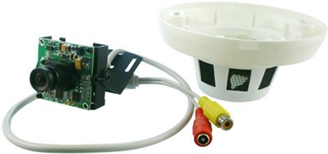 Smoke Detector Surveillance Camera