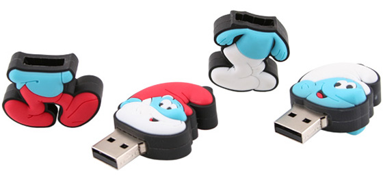 Smurfs USB Drives