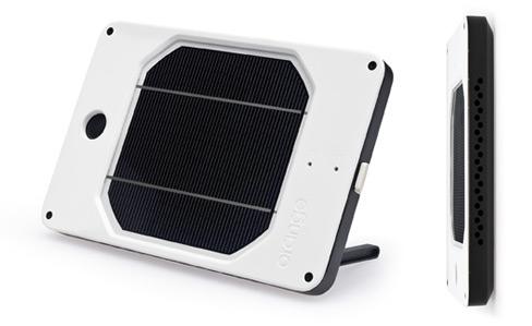Solar JOOS Orange Portable Charger