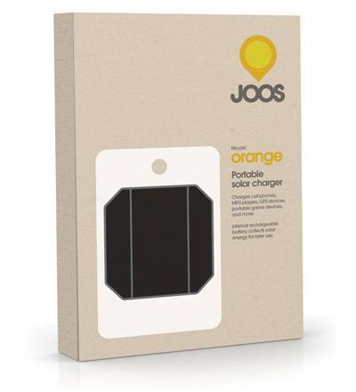 Solar JOOS Orange Portable Power Charger