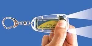 Solar LED Keychain