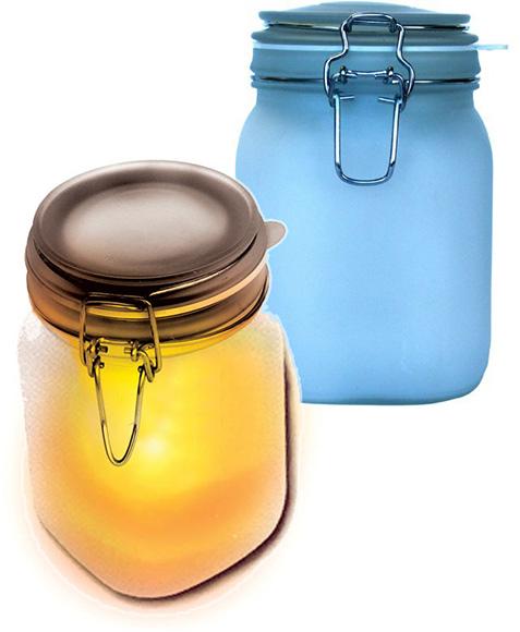 Solar Sun and Moon Jars
