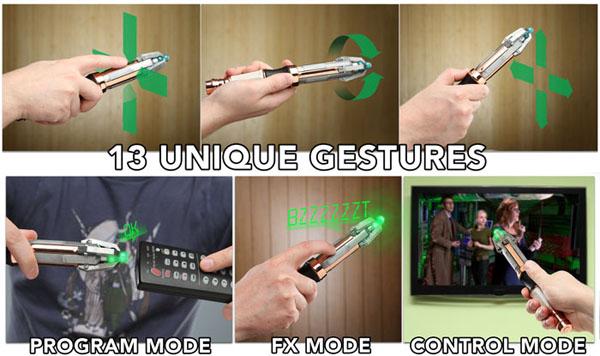 sonic screwdriver remote