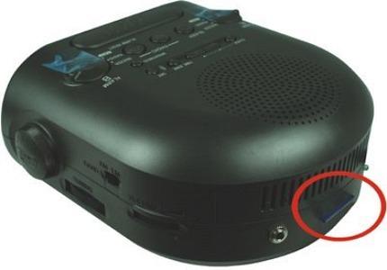 Sony Spy Alarm Clock